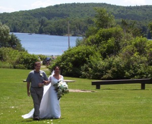 wedding at a state park