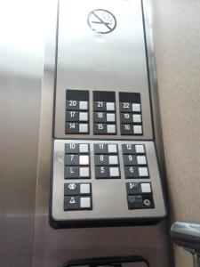 elevator buttons no 13th floor